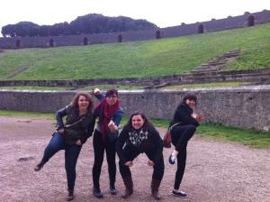 Spring semester 2015 field trip to Pompeii